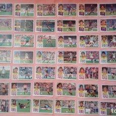 Cromos de Fútbol: LOTE 778 CROMOS DISTINTOS EDICIONES ESTE LIGAS 1981 82, 82 83, 83 84, 84 85. Lote 173210964