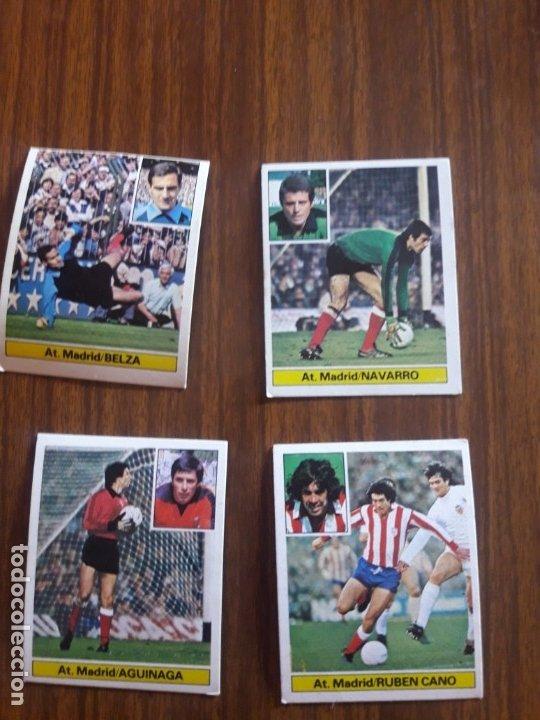 LOTE DE 20 CROMOS DEL AT DE MADRID DE EDICIONES ESTE DE LA TEMPORADA 81/82 SIN PEGAR (Coleccionismo Deportivo - Álbumes y Cromos de Deportes - Cromos de Fútbol)
