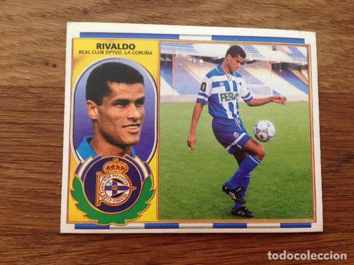 NUEVO COLOCA 96-97 1996-1997 RIVALDO DEPORTIVO (Coleccionismo Deportivo - Álbumes y Cromos de Deportes - Cromos de Fútbol)
