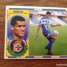 Cromos de Fútbol: NUEVO COLOCA 96-97 1996-1997 RIVALDO DEPORTIVO . Lote 173467715