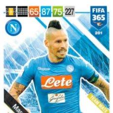 Cromos de Fútbol: PANINI - ADRENALYN XL - FIFA 365 2018 / 2019 - NAPOLES 201 MAREK HAMSIK. Lote 173507283