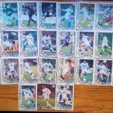 Cromos de Fútbol: EQUIPO COMPLETO DEL REAL MADRID TEMPORADA 1997/98. Lote 173516850