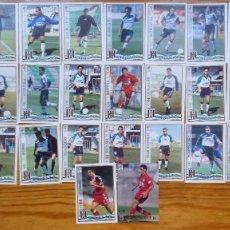 Cromos de Fútbol: EQUIPO COMPLETO DEL MERIDA TEMPORADA 1997/98. Lote 173525768
