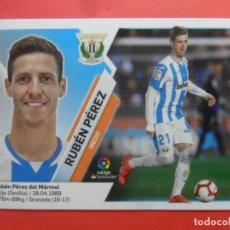 Cromos de Fútbol: LIGA ESTE 2019 2020 - 11 RUBEN PEREZ - LEGANES - 19 20 - PANINI. Lote 181100238