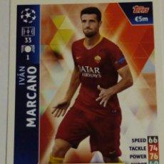 Cromos de Fútbol: MARCANO ROMA CHAMPIONS LEAGUE TOPPS 18 19. Lote 173606480