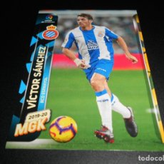 Cromos de Fútbol: MGK 138 VICTOR SANCHEZ ESPANYOL CROMOS ALBUM MEGACRACKS LIGA FUTBOL 2019 2020 19 20. Lote 173683653