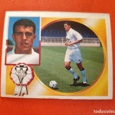 Cromos de Fútbol: RAREZA ED. ESTE LIGA 94-95 OSCAR ALBACETE FICHAJE 1 ERROR DE IMPRESION FALTA NOMBRE PARTE DELANTERA. Lote 173748810