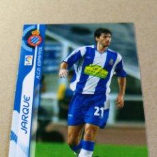 Cromos de Fútbol: JARQUE Nº 114 REAL CLUB ESPANYOL MEGACRACKS 2006 2007 06 07 PANINI CROMO FÚTBOL MEGA CRACKS MGK . Lote 173752207