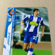Cromos de Fútbol: JARQUE Nº 114 REAL CLUB ESPANYOL MEGACRACKS 2006 2007 06 07 PANINI CROMO FÚTBOL MEGA CRACKS MGK . Lote 173752367