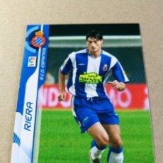 Cromos de Fútbol: RIERA Nº 119 REAL CLUB ESPANYOL MEGACRACKS 2006 2007 06 07 PANINI CROMO FÚTBOL MEGA CRACKS MGK . Lote 173753815