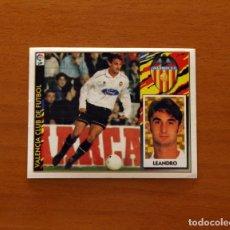 Cromos de Fútbol: VALENCIA - LEANDRO - BAJA - EDICIONES ESTE 1997-1998, 97-98 - NUNCA PEGADO. Lote 173792614