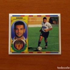 Cromos de Fútbol: VALENCIA - GÁLVEZ - EDICIONES ESTE 1996-1997, 96-97 - NUNCA PEGADO. Lote 173792633
