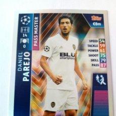 Cromos de Fútbol: DANIEL PAREJO VALENCIA CHAMPIONS 18 19 PASS MASTER. Lote 173810443