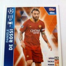 Cromos de Fútbol: DANIELE DE ROSSI ROMA CHAMPIONS 18 19. Lote 173811399