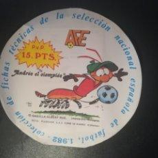 Cromos de Fútbol: SOBRE SIN ABRIR DE FICHAS DE LA SELECCION ESPAÑOLA DE FUTBOL 1982 . Lote 173847328
