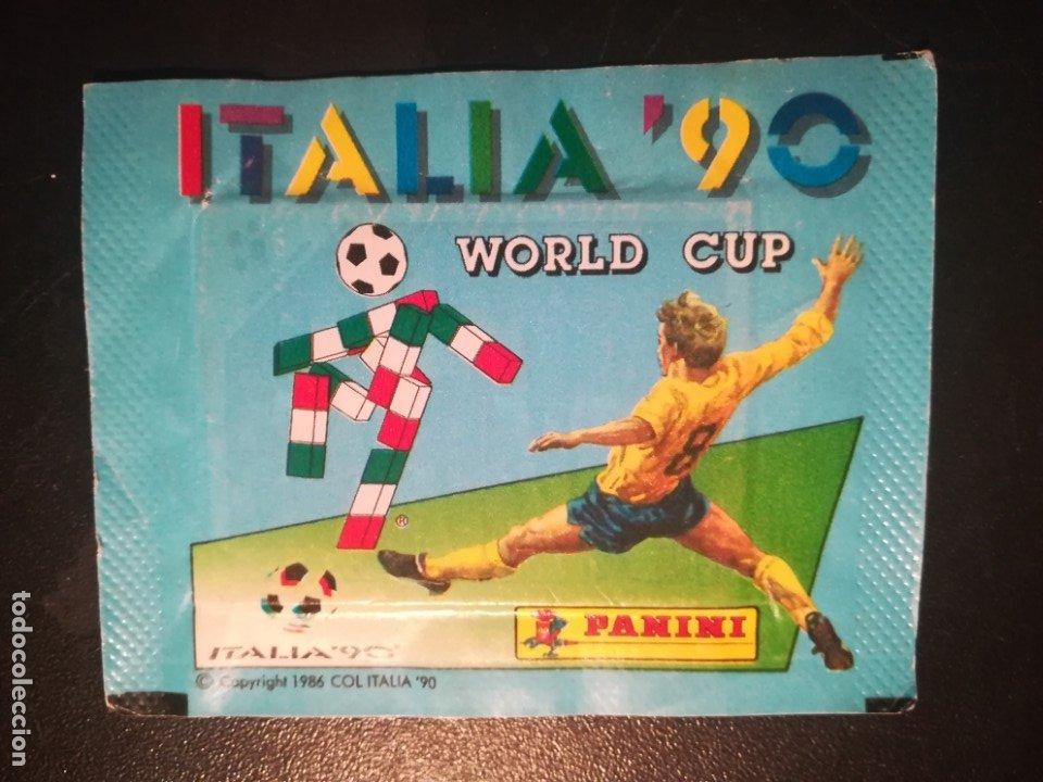 PANINI SOBRE SIN ABRIR DEL MUNDIAL ITALIA 90 (Coleccionismo Deportivo - Álbumes y Cromos de Deportes - Cromos de Fútbol)