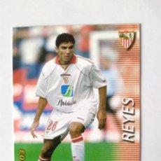 Figurine di Calcio: MEGAFICHAS 2002 2003 PANINI REYES Nº 286 SEVILLA MEGACRACKS. Lote 257999315