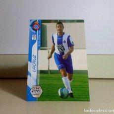 Cromos de Fútbol: MEGACRACKS 2006 2007 06 07 PANINI. LACRUZ Nº 112 BIS FICHAJE (ESPANYOL) CROMO FÚTBOL MEGA CRACKS MGK. Lote 173885215