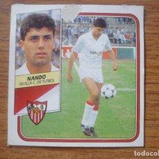 Cromos de Fútbol: CROMO LIGA ESTE 89 90 NANDO (SEVILLA) - DESPEGADO - 1989 1990 . Lote 173918172