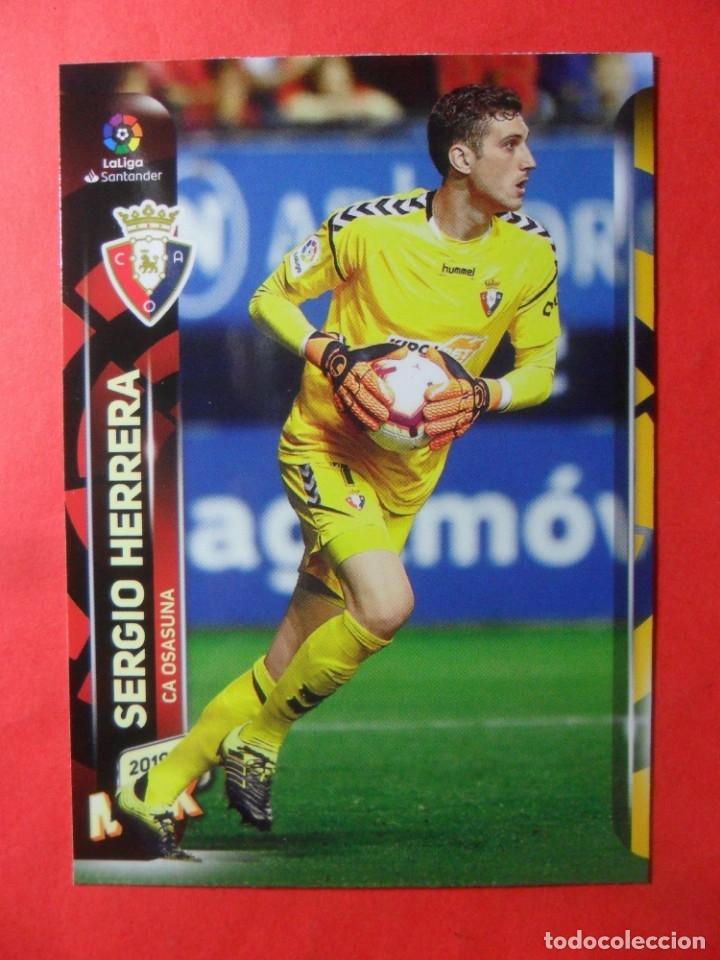 MEGACRACKS 2019 2020 - 255 SERGIO HERRERA - OSASUNA - 19 20 MGK PANINI (Coleccionismo Deportivo - Álbumes y Cromos de Deportes - Cromos de Fútbol)