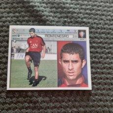 Cromos de Fútbol: EDICIONES ESTE 2001 2002 MONTENEGRO OSASUNA FICHAJE NUEVO DE SOBRE. Lote 223992042