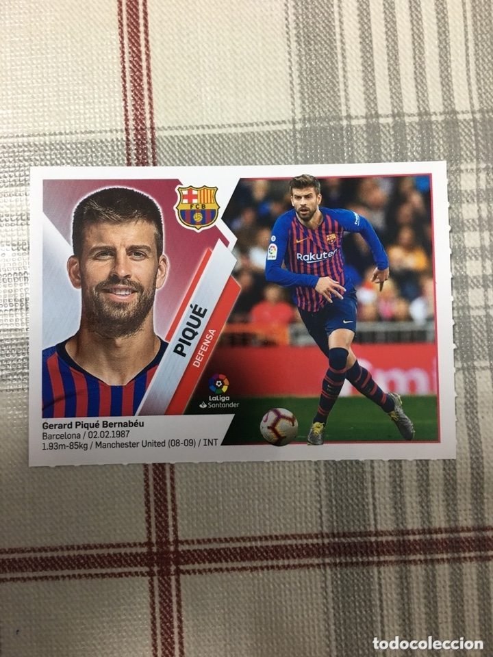 Liga Santander 2019 2020 Piqué 6 Barcelona Sold Through Direct Sale 174057360