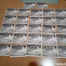 Cromos de Fútbol: LOTE DE 27 CROMOS ESTE ÚLTIMOS FICHAJES TEMPORADA 2010-2011.. Lote 174083184