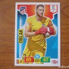 Cromos de Fútbol: ADRENALYN XL 2018 2019 PANINI Nº 37 OBLAK (ATLETICO MADRID) - CROMO LIGA 18 19. Lote 174225230