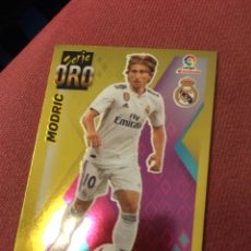 Cromos de Fútbol: ESTE 2019 2020 19 20 SIN PEGAR SERIE ORO MODRIC REAL MADRID 6. Lote 174343293