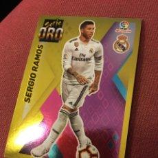 Cromos de Fútbol: ESTE 2019 2020 19 20 SIN PEGAR SERIE ORO SERGIO RAMOS 13 REAL MADRID. Lote 174343568