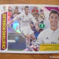 Cromos de Fútbol: ESTE 2017 2018 PANINI 16 CRISTIANO RONALDO (REAL MADRID) - SIN PEGAR - CROMO FUTBOL LIGA 17 18. Lote 211409754