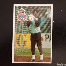 Cromos de Fútbol: N'KONO. RCD ESPAÑOL. CROMOESPORT. 1984-1985. 84-85. SIN PEGAR. VER FOTOS DE FRONTAL Y TRASERA. Lote 174409143