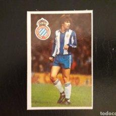 Cromos de Fútbol: FORCADELL. RCD ESPAÑOL. CROMOESPORT. 1984-1985. 84-85. SIN PEGAR. VER FOTOS DE FRONTAL Y TRASERA. Lote 174409435