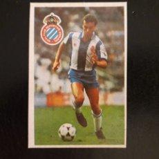 Cromos de Fútbol: MÁRQUEZ. RCD ESPAÑOL. CROMOESPORT. 1984-1985. 84-85. SIN PEGAR. VER FOTOS DE FRONTAL Y TRASERA. Lote 174409619