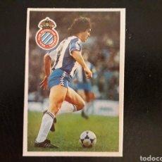 Cromos de Fútbol: OREJUELA. RCD ESPAÑOL. CROMOESPORT. 1984-1985. 84-85. SIN PEGAR. VER FOTOS DE FRONTAL Y TRASERA. Lote 174409660