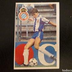 Cromos de Fútbol: SOLER. RCD ESPAÑOL. CROMOESPORT. 1984-1985. 84-85. SIN PEGAR. VER FOTOS DE FRONTAL Y TRASERA. Lote 174409722