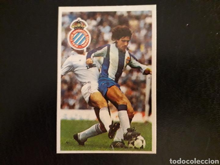ZÚÑIGA. RCD ESPAÑOL. CROMOESPORT. 1984-1985. 84-85. SIN PEGAR. VER FOTOS DE FRONTAL Y TRASERA (Coleccionismo Deportivo - Álbumes y Cromos de Deportes - Cromos de Fútbol)