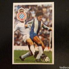 Cromos de Fútbol: ZÚÑIGA. RCD ESPAÑOL. CROMOESPORT. 1984-1985. 84-85. SIN PEGAR. VER FOTOS DE FRONTAL Y TRASERA. Lote 174409838