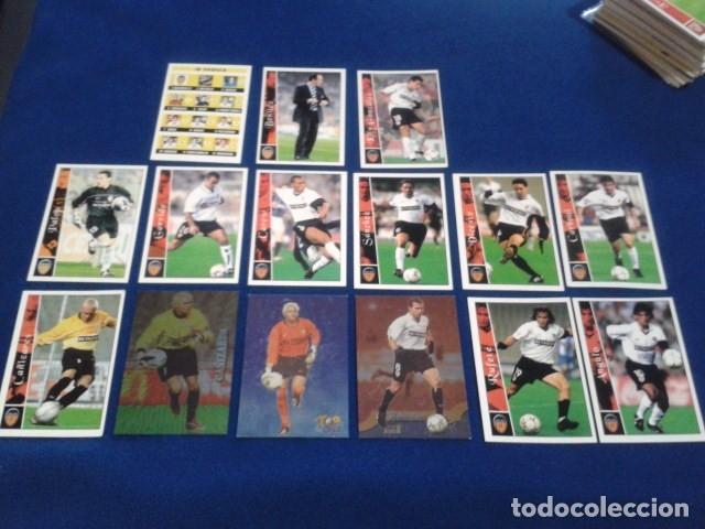 CROMOS LOTE 15 FICHAS DE LA LIGA 2002 - 03 ( VALENCIA C.F. ) MUNDICROMO 2003 SIN REPETIR (Coleccionismo Deportivo - Álbumes y Cromos de Deportes - Cromos de Fútbol)