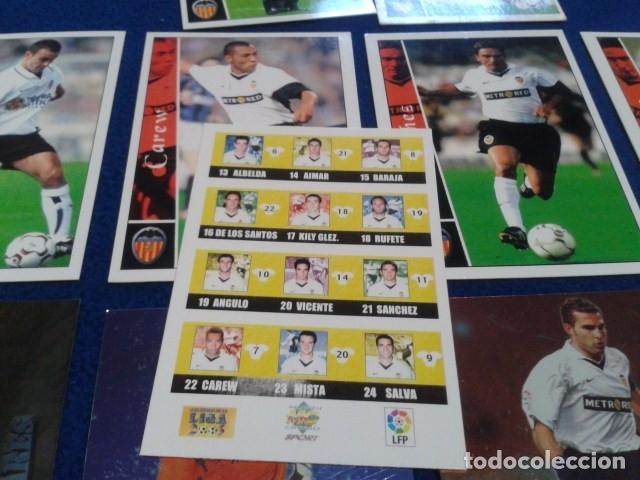 Cromos de Fútbol: CROMOS LOTE 15 FICHAS DE LA LIGA 2002 - 03 ( VALENCIA C.F. ) MUNDICROMO 2003 SIN REPETIR - Foto 2 - 174409847