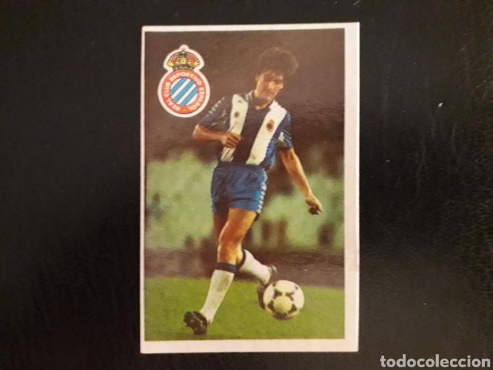 MIGUEL ÁNGEL. RCD ESPAÑOL. CROMOESPORT. 1984-1985. 84-85. SIN PEGAR. VER FOTOS DE FRONTAL Y TRASERA (Coleccionismo Deportivo - Álbumes y Cromos de Deportes - Cromos de Fútbol)