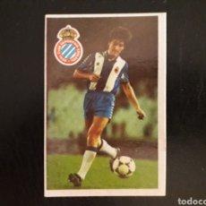 Cromos de Fútbol: MIGUEL ÁNGEL. RCD ESPAÑOL. CROMOESPORT. 1984-1985. 84-85. SIN PEGAR. VER FOTOS DE FRONTAL Y TRASERA. Lote 174409869