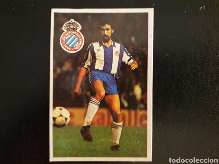 MALDONADO. RCD ESPAÑOL. CROMOESPORT. 1984-1985. 84-85. SIN PEGAR. VER FOTOS DE FRONTAL Y TRASERA (Coleccionismo Deportivo - Álbumes y Cromos de Deportes - Cromos de Fútbol)