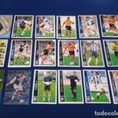 Cromos de Fútbol: CROMOS LOTE 19 FICHAS DE LA LIGA 2002 - 03 ( DPTVO. ALAVES ) MUNDICROMO 2003 SIN REPETIR. Lote 174410587