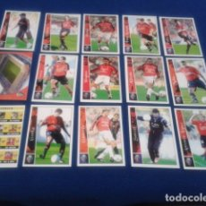 Cromos de Fútbol: CROMOS LOTE 15 FICHAS DE LA LIGA 2002 - 03 ( C. AT. OSASUNA ) MUNDICROMO 2003 SIN REPETIR. Lote 174411523