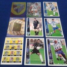 Cromos de Fútbol: CROMOS LOTE 9 FICHAS DE LA LIGA 2002 - 03 ( MALAGA F.C.) MUNDICROMO 2003 SIN REPETIR. Lote 174412349