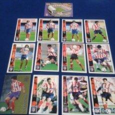 Cromos de Fútbol: CROMOS LOTE 13 FICHAS DE LA LIGA 2002 - 03 ( AT. MADRID ) MUNDICROMO 2003 SIN REPETIR. Lote 174412574