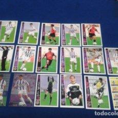 Cromos de Fútbol: CROMOS LOTE 17 FICHAS DE LA LIGA 2002 - 03 ( REAL VALLADOLID ) MUNDICROMO 2003 SIN REPETIR. Lote 174412839