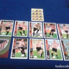 Cromos de Fútbol: CROMOS LOTE 11 FICHAS DE LA LIGA 2002 - 03 ( ATHLETIC CLUB BILBAO ) MUNDICROMO 2003 SIN REPETIR. Lote 174413154