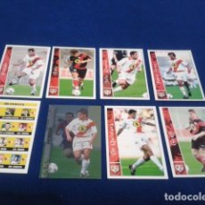 Cromos de Fútbol: CROMOS LOTE 8 FICHAS DE LA LIGA 2002 - 03 ( RAYO VALLECANO ) MUNDICROMO 2003 SIN REPETIR. Lote 174413275
